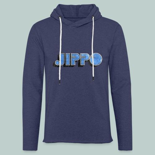 JIPPO LOGO (blue) - Kevyt unisex-huppari