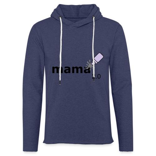 Mama_2-0 - Leichtes Kapuzensweatshirt Unisex
