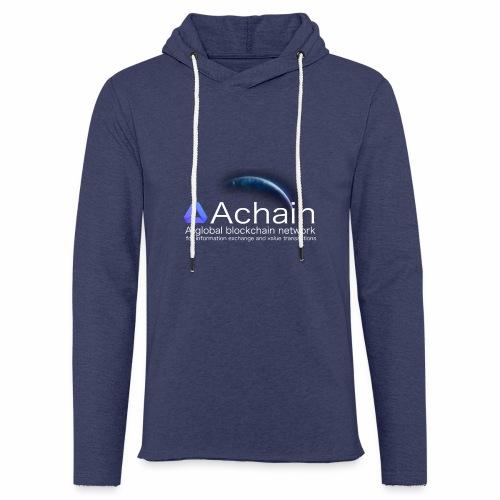 Achain, planet Earth - Felpa con cappuccio leggera unisex