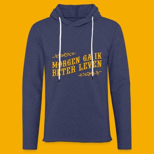 tshirt yllw 01 - Lichte hoodie unisex