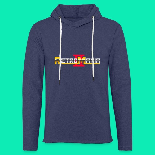 Retro Mania II - Logo - Leichtes Kapuzensweatshirt Unisex