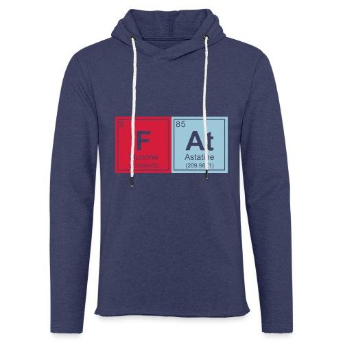 Geeky Fat Periodic Elements - Light Unisex Sweatshirt Hoodie