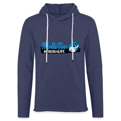 Nyt Logo4 - Let sweatshirt med hætte, unisex