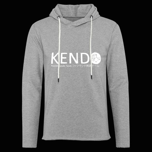 Finnish Kendo Team Text - Kevyt unisex-huppari