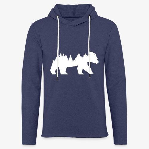 Bear Wald - Leichtes Kapuzensweatshirt Unisex