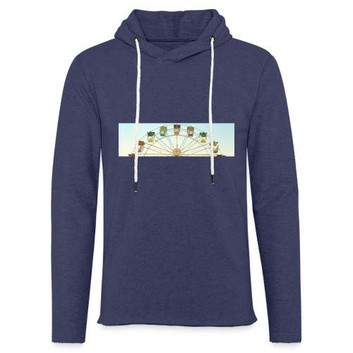 header_image_cream - Light Unisex Sweatshirt Hoodie