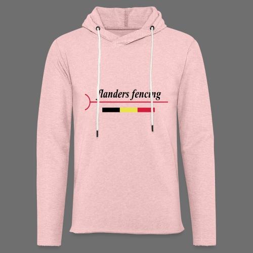 Flanders Fencing BE - Lichte hoodie unisex