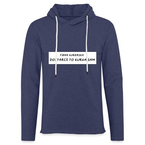 firma kurierska tyl - Lekka bluza z kapturem