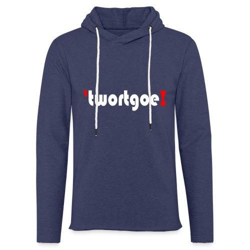 logo_wit - Lichte hoodie unisex