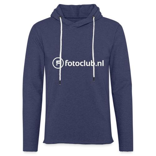 Logo Wit Fotoclublnl - Lichte hoodie unisex