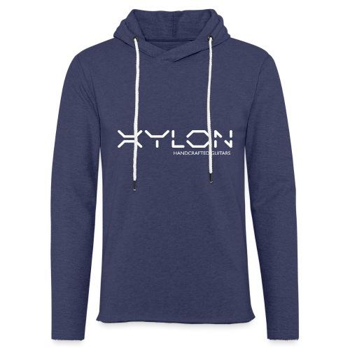 Xylon Handcrafted Guitars (name only logo white) - Light Unisex Sweatshirt Hoodie