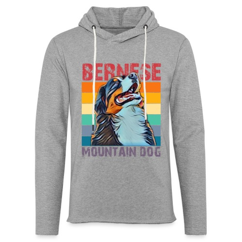 Bernese mountain dog - Lichte hoodie unisex