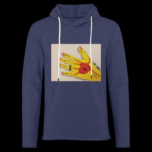 9D8D600F D04D 4BA7 B0EE 60442C72919B - Let sweatshirt med hætte, unisex