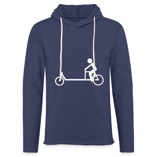 Biporteur - Sweat-shirt à capuche léger unisexe
