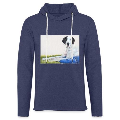 Grand danios harlequin - Let sweatshirt med hætte, unisex