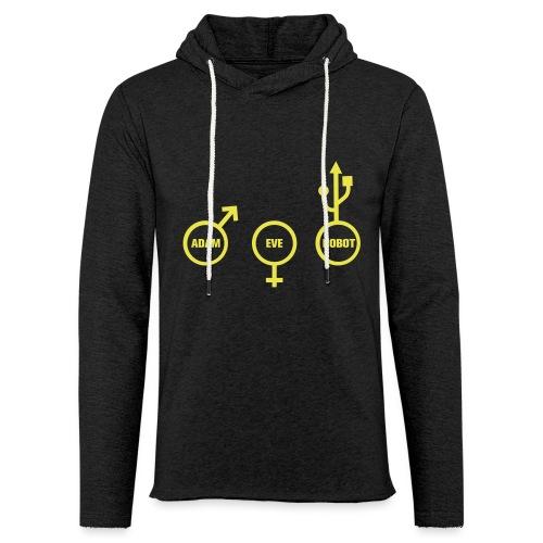 ROBOT NERD - Sweat-shirt à capuche léger unisexe