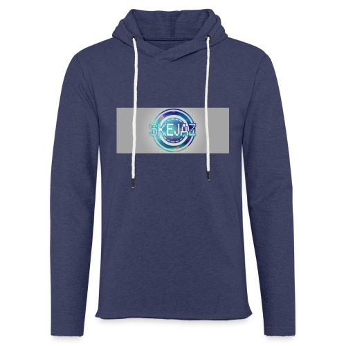 LOGO WITH BACKGROUND - Light Unisex Sweatshirt Hoodie