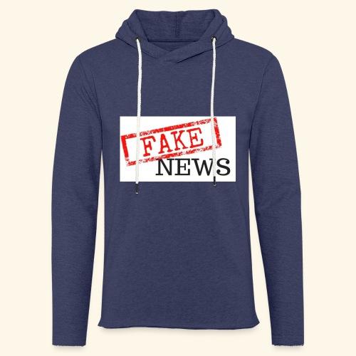 fake news - Light Unisex Sweatshirt Hoodie