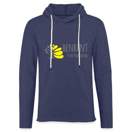 henbant logo - Light Unisex Sweatshirt Hoodie