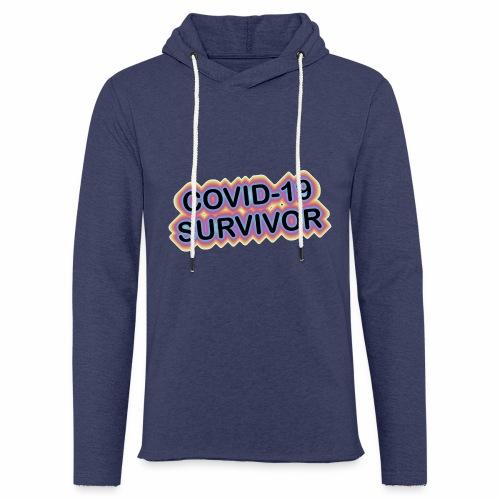 covic19survivor - Let sweatshirt med hætte, unisex