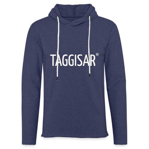Taggisar Logo - Lätt luvtröja unisex