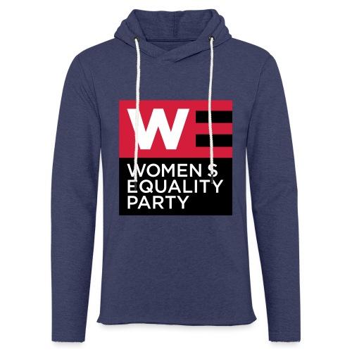 WE_LOGO_RED_CMYK - Light Unisex Sweatshirt Hoodie