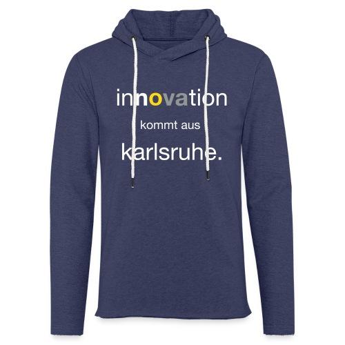 Innovation aus Karlsruhe - Leichtes Kapuzensweatshirt Unisex