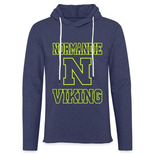 Normandie Viking Def jaune - Sweat-shirt à capuche léger unisexe