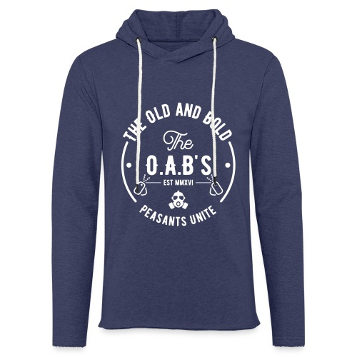 OAB unite white - Light Unisex Sweatshirt Hoodie