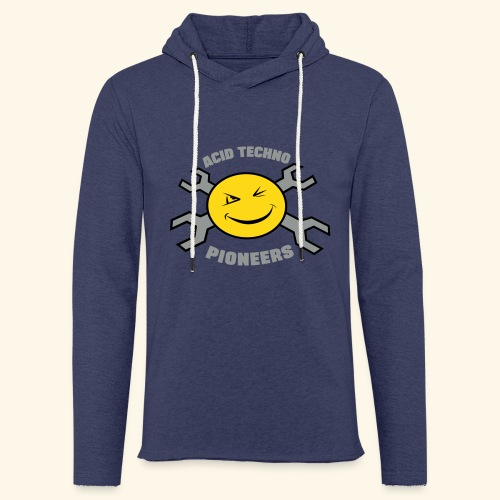 ACID TECHNO PIONEERS - SILVER EDITION - Light Unisex Sweatshirt Hoodie