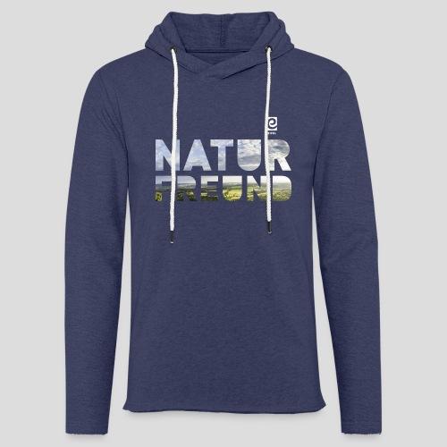 Naturfreund - weiß - Leichtes Kapuzensweatshirt Unisex