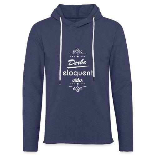 Derbe Eloquent Alda Weiß - Light Unisex Sweatshirt Hoodie