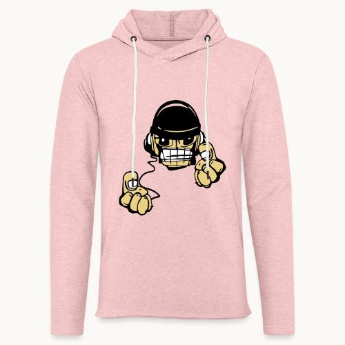Micky DJ - Sweat-shirt à capuche léger unisexe
