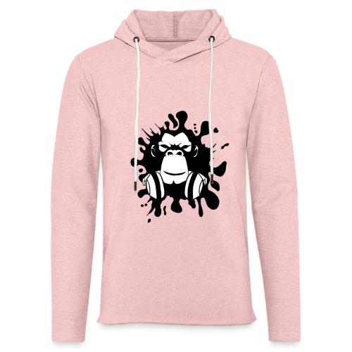 gorille - Sweat-shirt à capuche léger unisexe