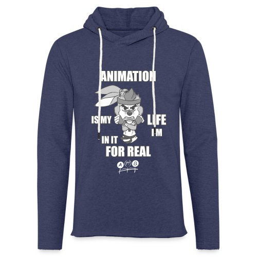 AMB Animation - In It For REAL - Light Unisex Sweatshirt Hoodie