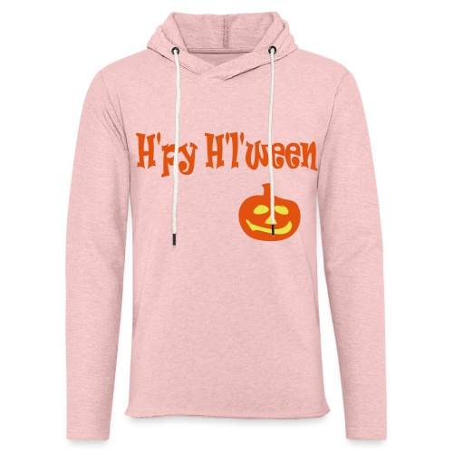 Happy Halloween - Leichtes Kapuzensweatshirt Unisex