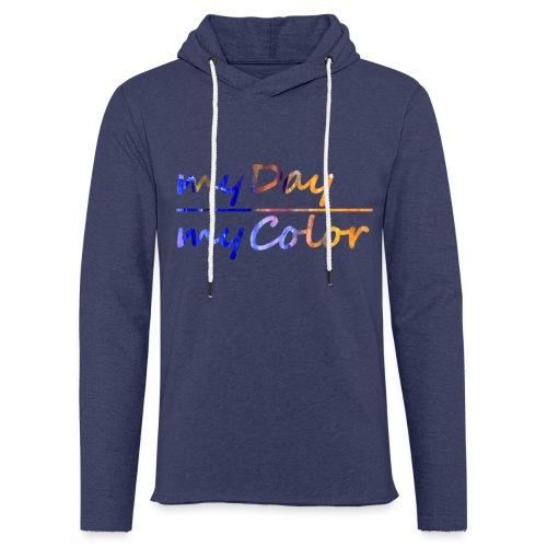myDay Schriftzug - Leichtes Kapuzensweatshirt Unisex