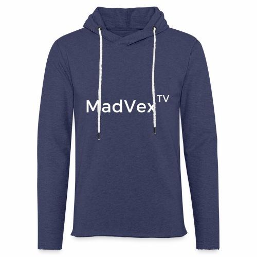 MadVexTV Schriftzug - Leichtes Kapuzensweatshirt Unisex