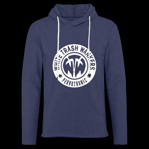 White Trash Wankers Pervotronic-Logo - Leichtes Kapuzensweatshirt Unisex
