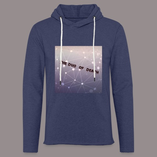 The duo of death logo - Lichte hoodie unisex