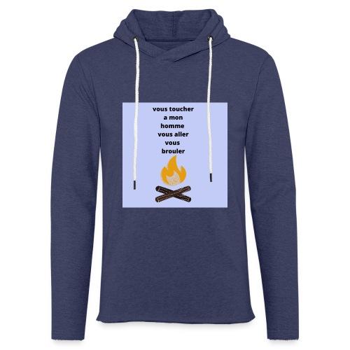 pour homme et femme - Sweat-shirt à capuche léger unisexe