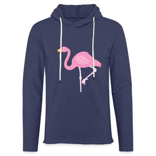 Flamingo - Lichte hoodie unisex