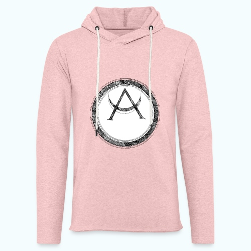 Mystic motif with sun and circle geometric - Light Unisex Sweatshirt Hoodie