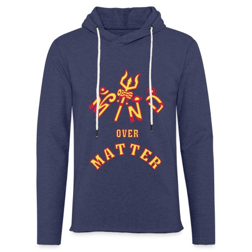 Mind over Matter - Let sweatshirt med hætte, unisex