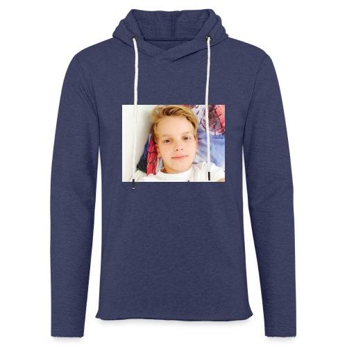 first design - Let sweatshirt med hætte, unisex