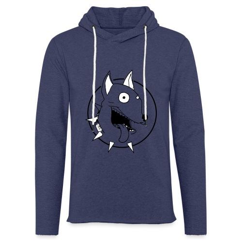 chien fou - Sweat-shirt à capuche léger unisexe