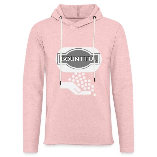 Bontiul gray white - Light Unisex Sweatshirt Hoodie