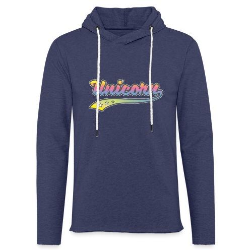 Unicorn Sport - Sweat-shirt à capuche léger unisexe