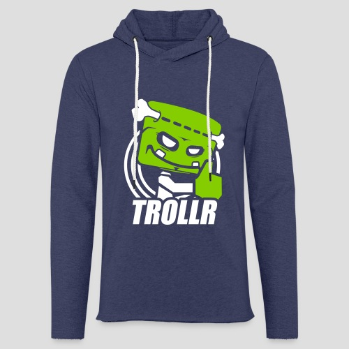 TROLLR Like - Sweat-shirt à capuche léger unisexe