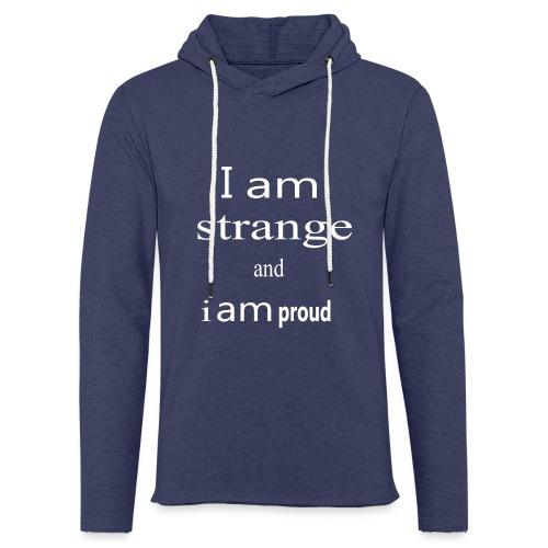 strange - Sweat-shirt à capuche léger unisexe